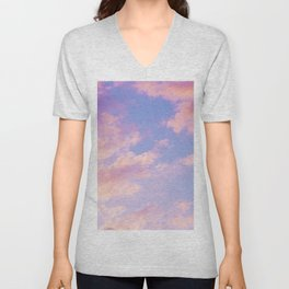 Miraculous Clouds #1 #dreamy #wall #decor #society6 Unisex V-Neck
