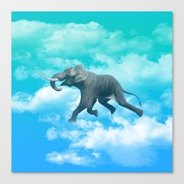 Into the elephant's dream Canvas Print