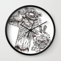 The best presents don't come in boxes Wall Clock