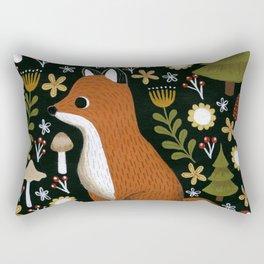 hello fox Rectangular Pillow