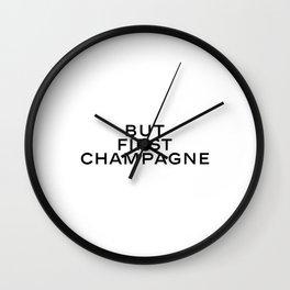 Alcohol poster,Bar art,Alcohol bar Champagne art Celebration Bar prints Champagne prints,Bar posters Wall Clock
