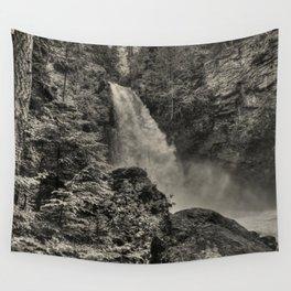 Sutherland Falls, BC - Waterfall Wall Tapestry