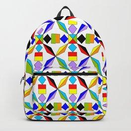 symetric patterns 56 -mandala,geometric,rosace,harmony,star,symmetry Backpack