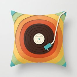 World Record Throw Pillow