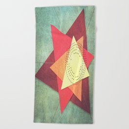Coherence 2 Beach Towel