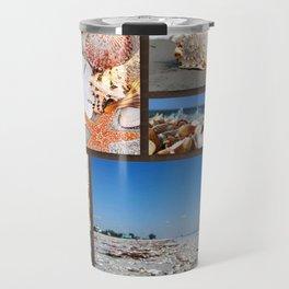 Seashell Treasures From The Sea Travel Mug