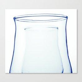 blue glass Canvas Print