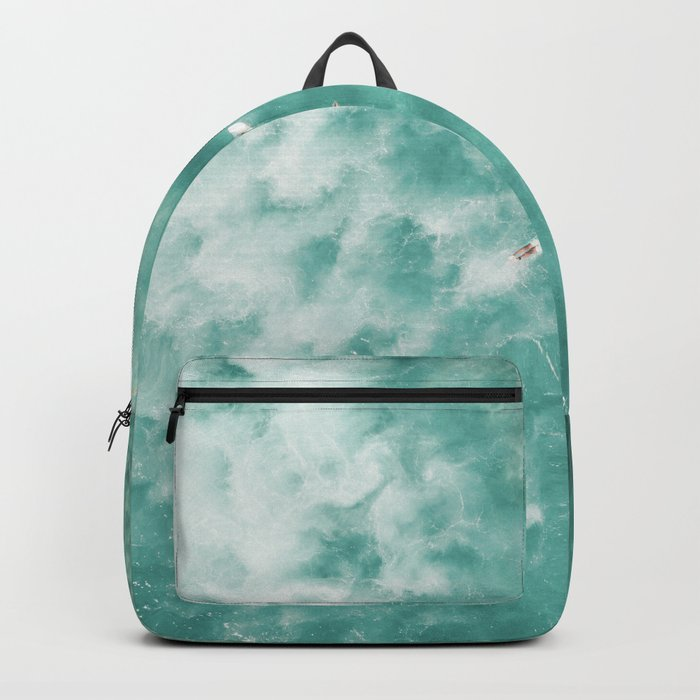 Surfing in the Ocean Backpack