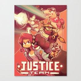 Justice team Canvas Print