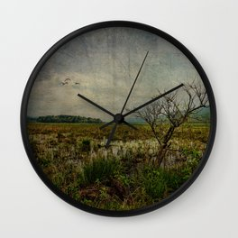 Heaven in Bashakill Wetlands Wall Clock