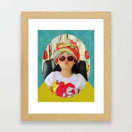 Good Vibe Kiddo Framed Art Print