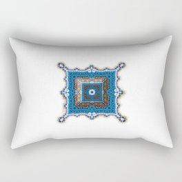Paisley Relief Rectangular Pillow