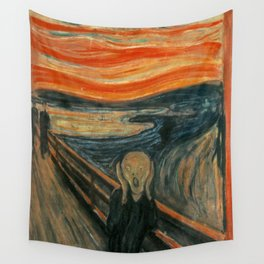 The Scream - Edvard Munch Wall Tapestry