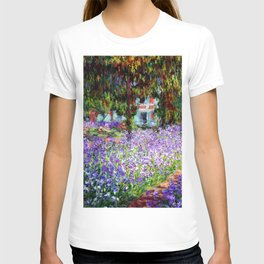 "Claude Monet ""Irises in Monet's Garden at Giverny"", 1900 T-shirt"