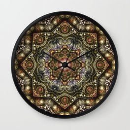 Mandalas from the Voice of Eternity 8 Wall Clock