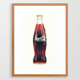 Coke Framed Art Print