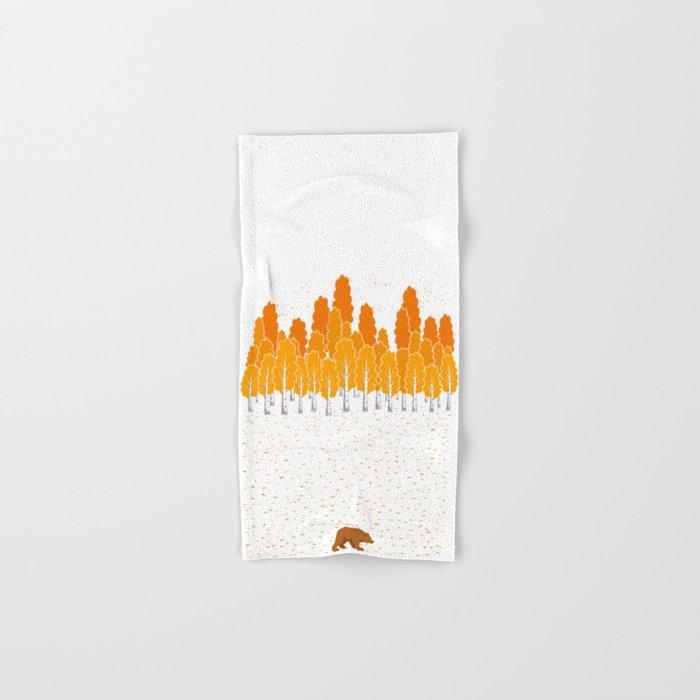 Birch and Bear Hand & Bath Towel