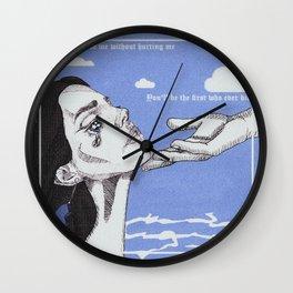 cinnamon girl Wall Clock