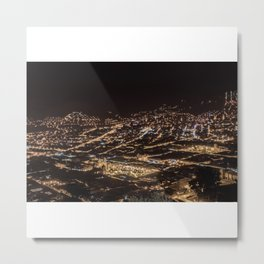 Cusco Night Moves Metal Print