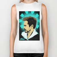 arya stark Biker Tanks featuring Tony Stark. by Tomcert