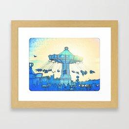 """""""Vanilla Sky"""" Framed Art Print"""