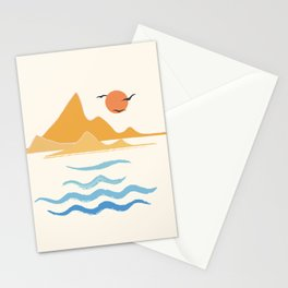 Minimalistic Summer III Stationery Cards