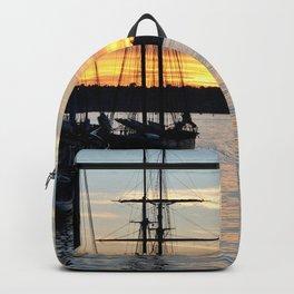 SHIPS AT SUNSET Backpack