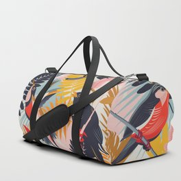Paradise Birds II. Duffle Bag
