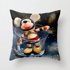 Lost In Space Mickey - Found Again Throw Pillow