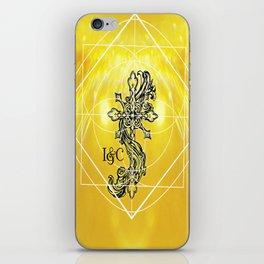 Gothic Cross: Divine iPhone Skin