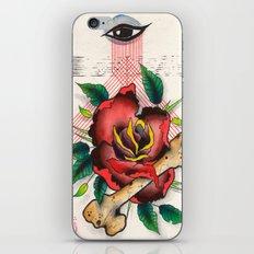 The Eye, The Rose, The Bone iPhone Skin