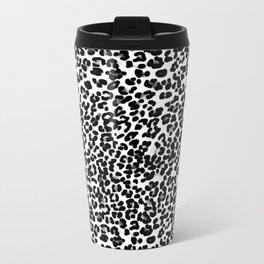 Small Leopard Skin Design Travel Mug