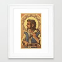 thorin Framed Art Prints featuring Thorin by MelColley