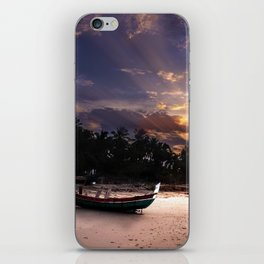 Island Sunset iPhone Skin