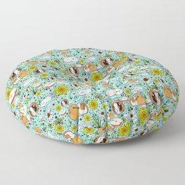 Guinea Pig Love Floor Pillow