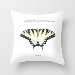 Psalm 61:4 Throw Pillow