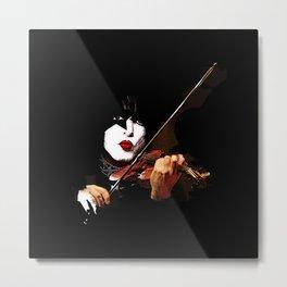 Paganini Devil Violinist 2 Metal Print