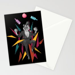 An-mazing magician  Stationery Cards