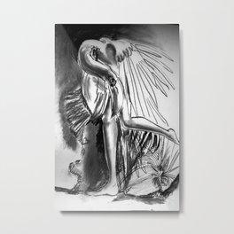 A strange bird Metal Print