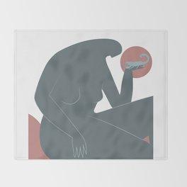 Scorpio (Oct 23 - Nov 22) Throw Blanket