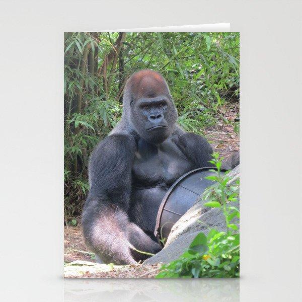 Gorilla Says Stationery Cards