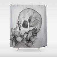 broken Shower Curtains featuring Broken by Brittany Ketcham
