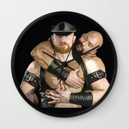 Leathermen Wall Clock