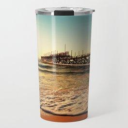 old pier Travel Mug