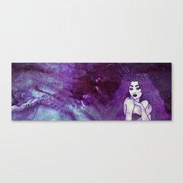 Violaceous - II Canvas Print