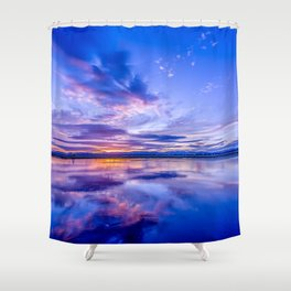 Scottish Sunset Shower Curtain