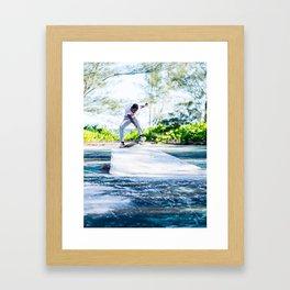 Andrae Strachan- Disaster Framed Art Print