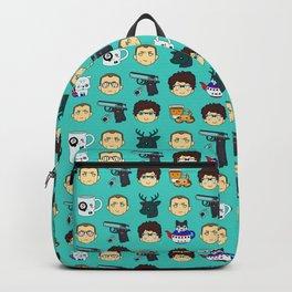 Skyfall chibi pattern 00Q Backpack