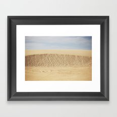 Dramatic Sand Dunes 2 Framed Art Print