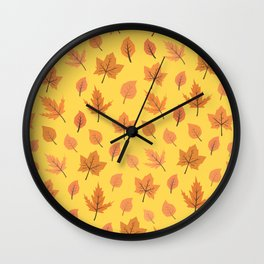 Hi Autumn Wall Clock